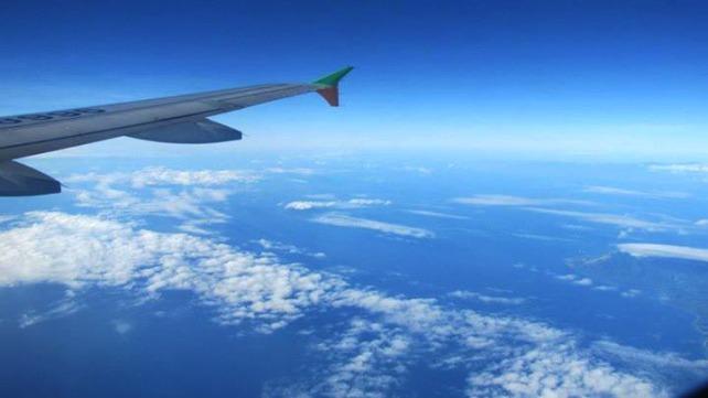 Flight to Bohol, Philippines - February 2013