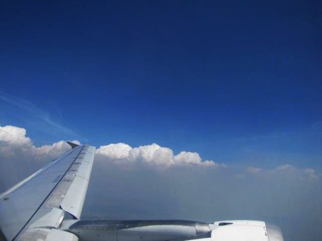 Flight to Boracay, Philippines - October 2012